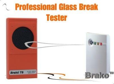Glass break tester