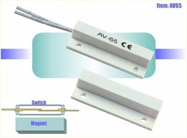 מפסק מגנטי קטן AV60