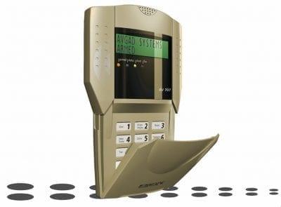 LCD Alarm Keypad Metallic